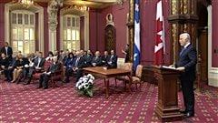Remaniement ministériel à Québec : le début d'un temps nouveau?