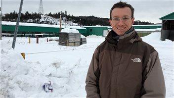 Le président de la scierie Petit-Saguenay, Frédéric Laliberté
