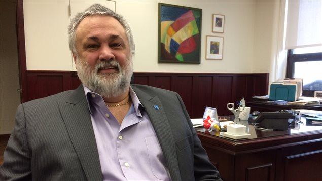 Sylvain Blais, directeur du Cégep de l'Abitibi-Témiscamingue