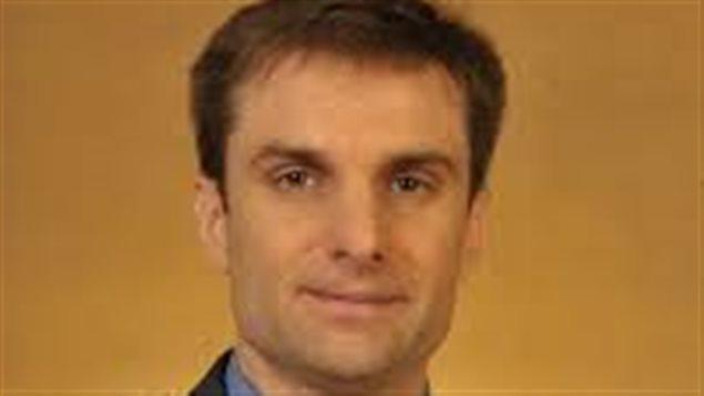 Sébastien Deschênes, professeur en administration à l'Université de Moncton