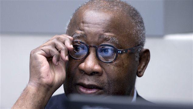 L'ex-président ivoirien Laurent Gbagbo attend le début de son procès à la CPI, le 28 janvier 2016.