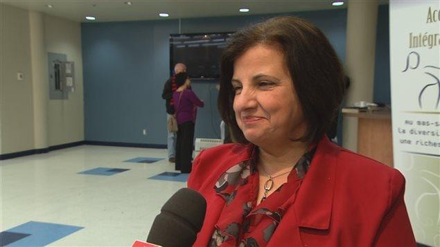 Mahnaz Fozi, directrice, Accueil et intégration Bas-Saint-Laurent