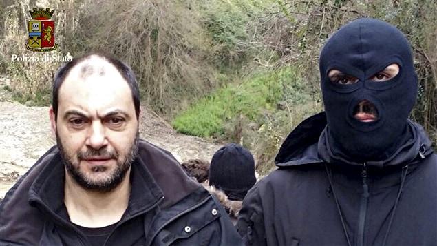Giuseppe Ferraro, dans les mains de la police italienne