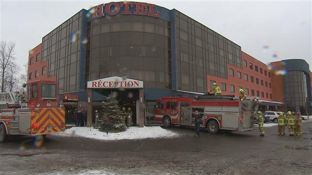 Un incendie force l'évacuation de l'hôtel Ambassadeur