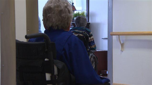 Un centre d'accueil pour adultes lourdement handicapés.
