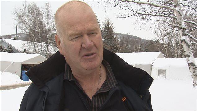 Denis Fortin, organisateur du Gala des athlètes de Québec et de la Chaudière-Appalaches.