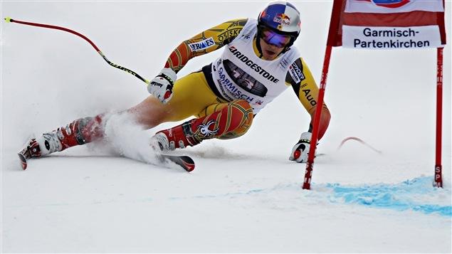 Erik Guay à Garmisch-Partenkirchen