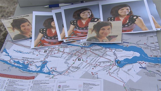 Les proches d'Isabelle Lévesque ont organisé des recherches pour la retrouver.