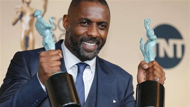 Idris Elba, récompensé pour le film Beasts of No Nation et la minisérie Luther