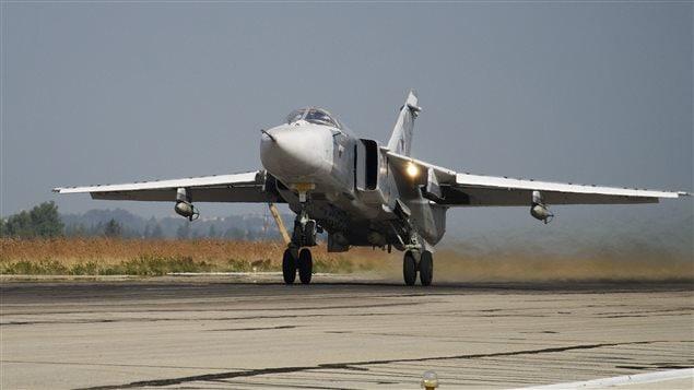 Un chasseur russe Su-24 (archives)