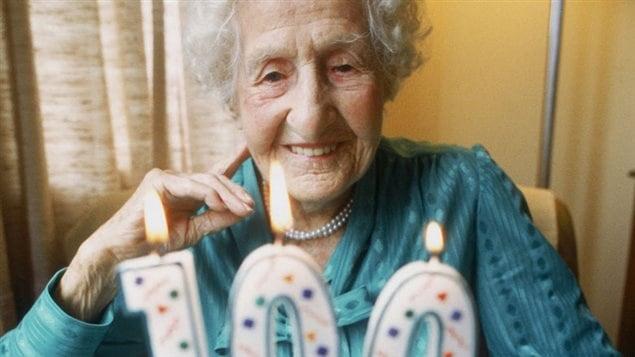 Une centenaire heureuse