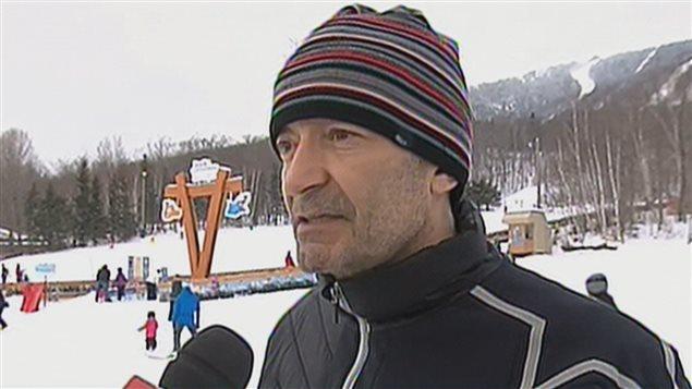 Daniel Rochon, directeur général du Mont-Sainte-Anne
