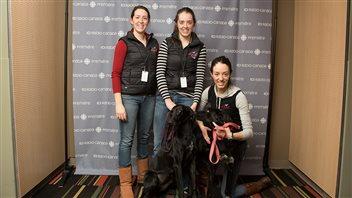 Trois soeurs passionnées de sports canins