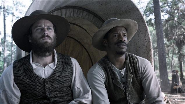 Armie Hammer et Nate Parker dans le film « The Birth of a Nation »