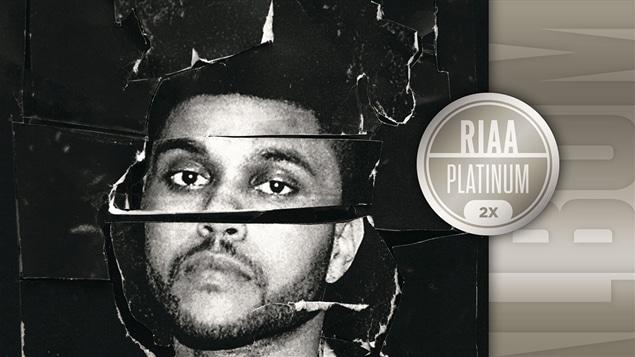 Le disque deux fois platine de The Weeknd