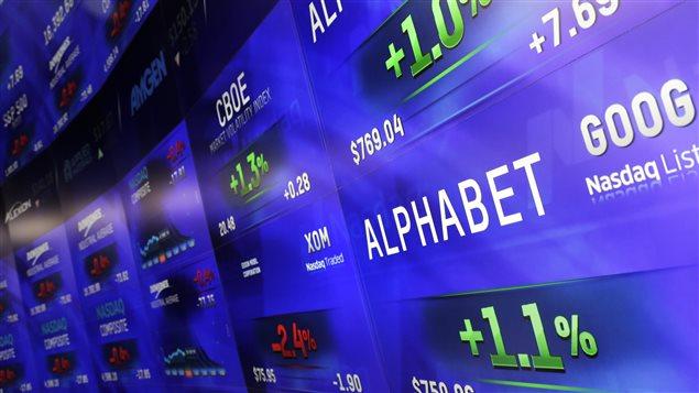 Alphabet a enregistré un bénéfice de 4,92 milliards $ US au quatrième trimestre.