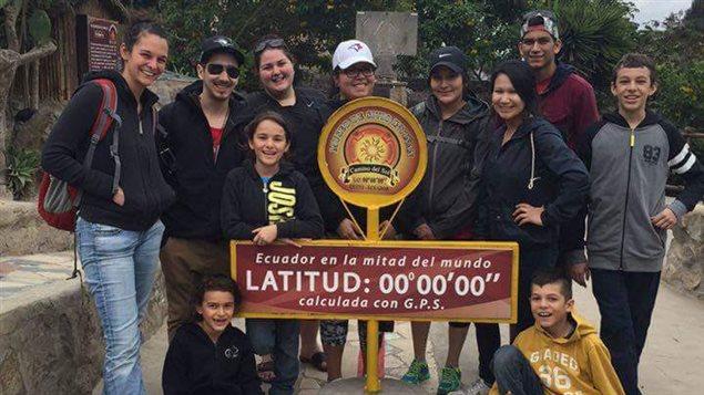 Des autochtones de Mashteuiatsh et Pessimit font un stage en Équateur.