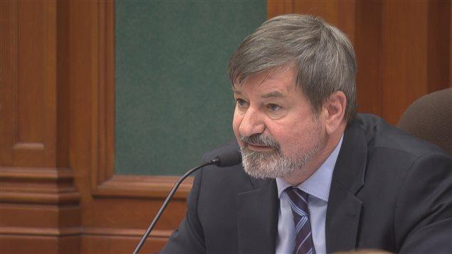 Serge Paquin, président du comité éxécutif Ville de Sherbrooke