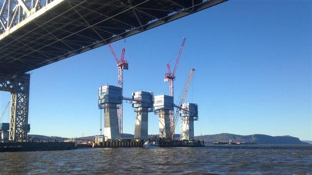 Construction du nouveau pont Tappan Zee