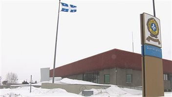 Le poste de la Sûreté du Québec à Saguenay