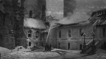 Une part de mystère, 100ans après le feu au parlement d'Ottawa