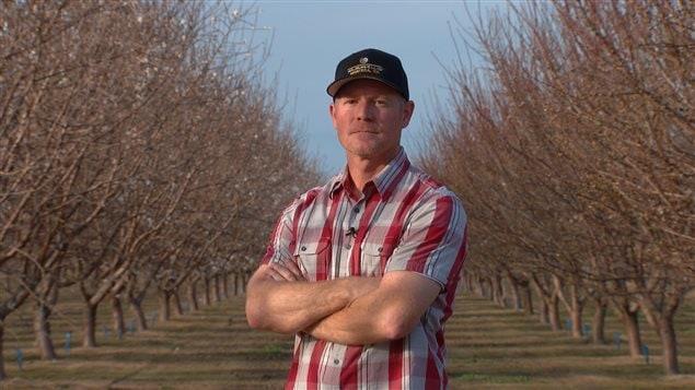 Brent Boersma est la tête d'affiche d'une culture des amandes dont la réputation est mise à mal par les critiques de l'industrie.