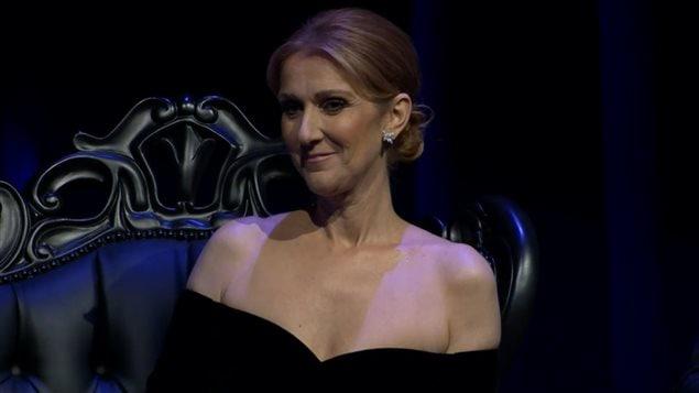Céline Dion était présente à la cérémonie