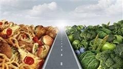Paniers pour une saine alimentation