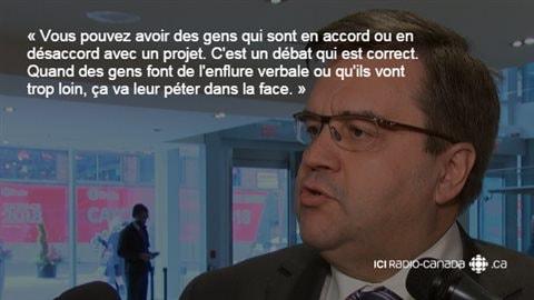Le maire de Montréal, Denis Coderre.