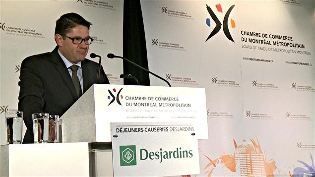 Éric Martel, nouveau président-directeur général d'Hydro-Québec