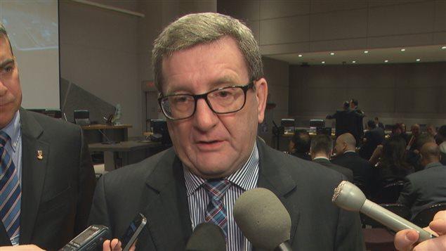 Régis Labeaume participe à la rencontre des maires des grandes villes à Ottawa.