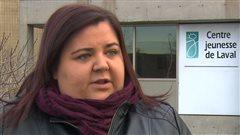 Julie Perron-Hamilton, vice-présidente du syndicat des employés du Centre jeunesse de Laval