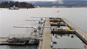 Un aéroport pour hydravions à Vancouver