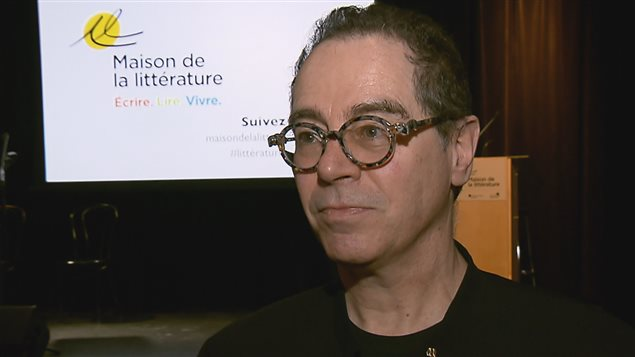 le directeur de la Maison de la littérature, Bernard Gilbert.