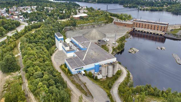 Nemaska Lithium compte installer son usine dans l'ancienne usine Laurentide, dans le secteur Grand-Mère de Shawinigan