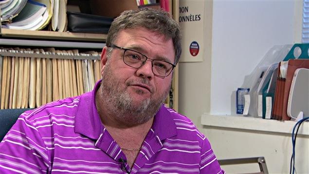 Martin Leblanc est président du Syndicat des professionnels de l'Outaouais.