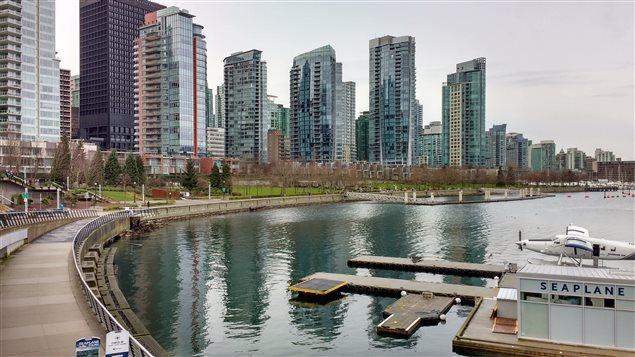 Le quartier Coal Harbour à Vancouver