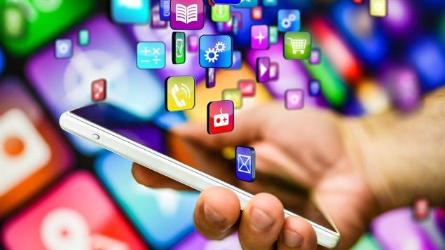 Application sur téléphone mobile