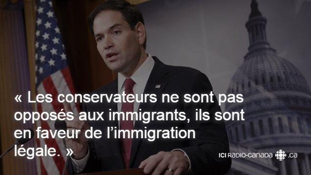 Le sénateur de la Floride, Marco Rubio