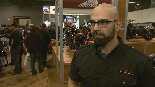 Dany Gravel, directeur marketing chez Motos Illimitées