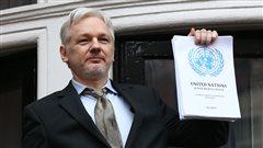 Julian Assange détenu arbitrairement, selon l'ONU