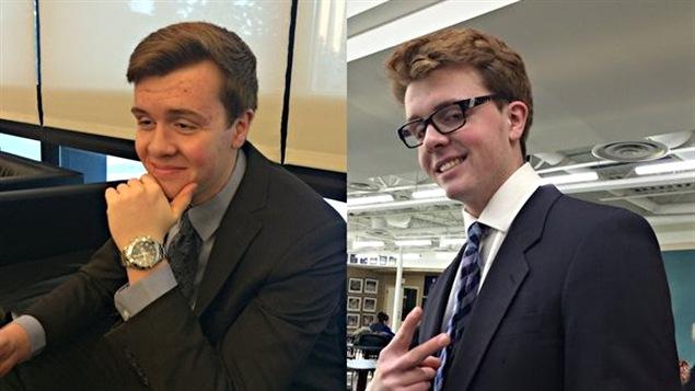 Jordan et Evan Caldwell, des frères jumeaux de 17 ans, sont décédés dans l'accident sur la piste de bobsleigh de Calgary