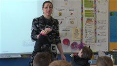 Amélie Denis, enseignante de 3e année à l'École Saint-Rosaire de Gaspé