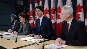 Le Canada redéfinit son rôle dans la coalition contre le groupe armé État Islamique