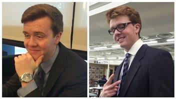 Les frères jumeaux Jordan et Evan Caldwell, 17 ans, morts dans la nuit du 6 décembre sur la piste de bobsleigh du Parc olympique du Canada à Calgary