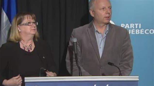 Carole Poirier et Jean-François Lisée
