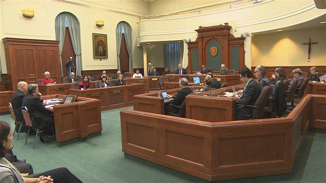 Présentation du programme d'amélioration continue au conseil municipal de Sherbrooke