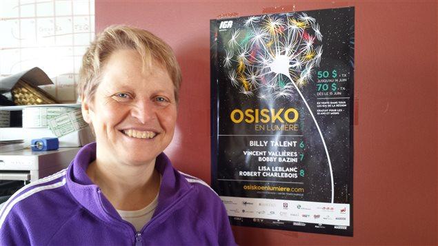 Christine Morasse, directrice du festival Osisko en lumière