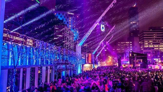 La Nuit blanche de Montréal en lumière