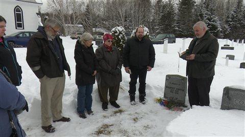 Cérémonie pour commémorer la pendaison de Wilburt Coffin, il y a 60 ans.